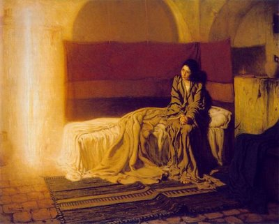 H.D. Tanner's The Annunciation