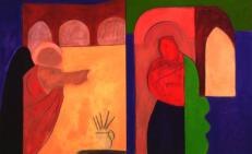 """""""Annunciation Series, Basilios Poulos, 1996"""