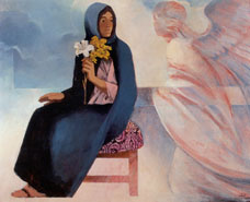 Modern Annunciation Paintings
