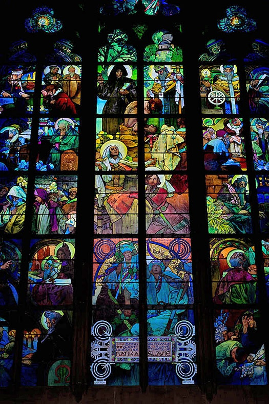 Icons and Stained Glass Connect us WithGod