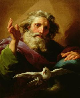 God-the-Father by Pompeo-Girolamo-Batoni