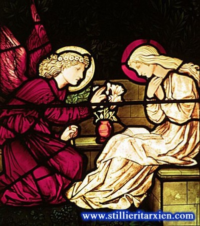 Stained Glass by Edward Burne Jones and William Morris Trinity Church Saugerties NY