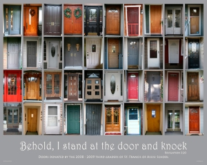 66.Behold, I stand at the door and knock - Patamia