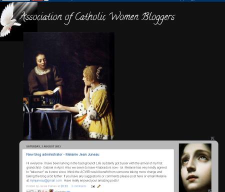 Association of Catholic Women Bloggers