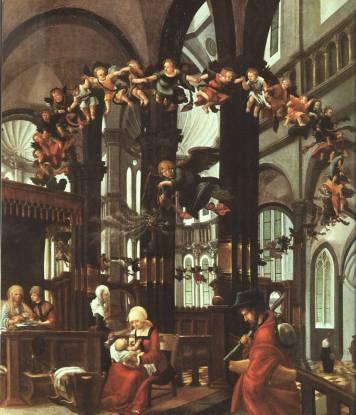 AlbrechtAltdorfer-The-Birth-of-the-Saviour-1525