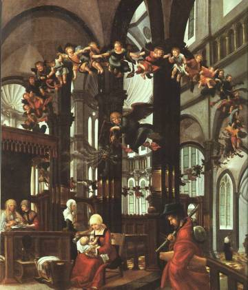 AlbrechtAltdorfer-The-Birth-of-the-Saviour-1525