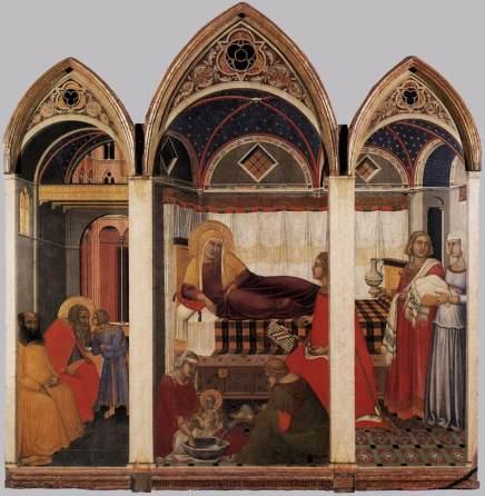 Pietro_Lorenzetti_-_The_Birth_of_Mary_-_WGA13553