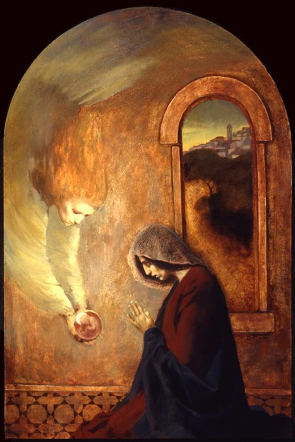 Mary in the Art of J. Kirk Richards: (Catholic and Livingit!)