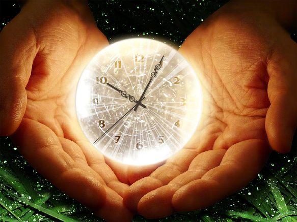 Time's slave