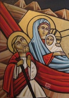 Coptic Icons : The Holy Family