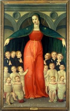 es that include matching images File:Domenico di michelino, madonna degli innocenti,