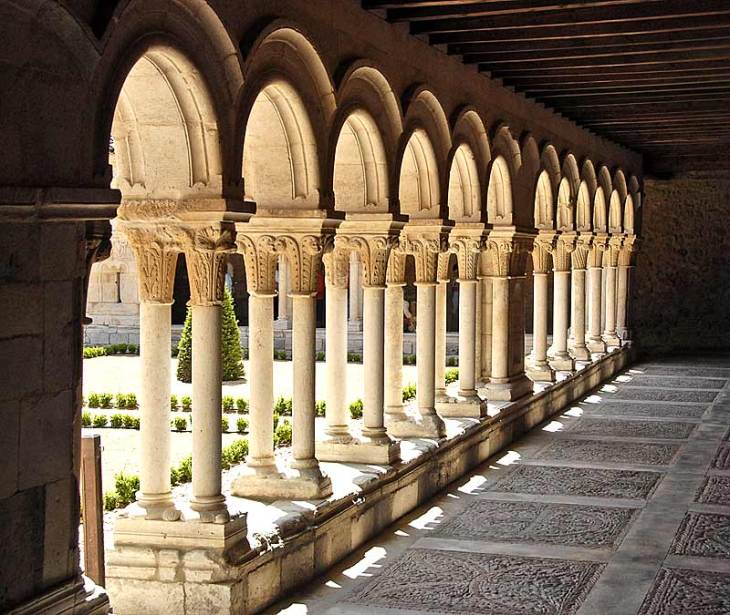 cloister passageway