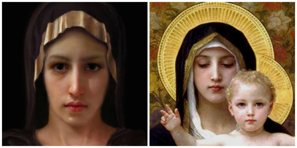 The Face of Mary? (1/2)