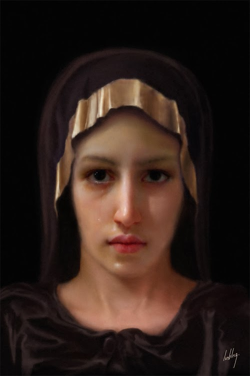 The Face of Mary?