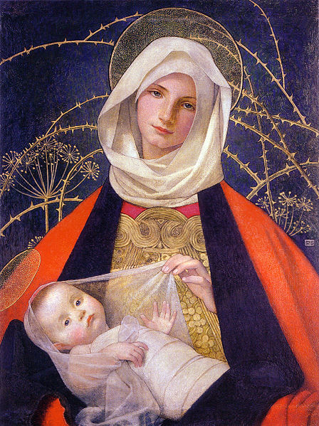 448px-Marianne_Stokes_Madonna_and_Child