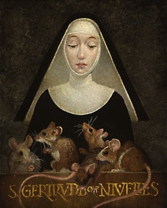 There is a Saint For Everything: Afraid ofMice?