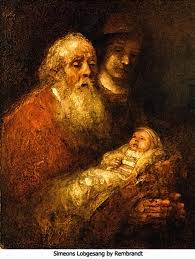 rembrandt simeon in the temple