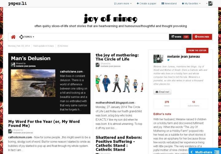 joy of nine9