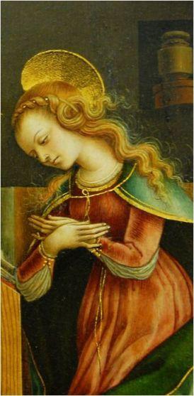 Carlo Crivelli, Annunciation (1486)