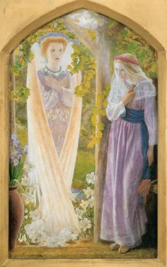 Arthur Hughes (1832-1915) The Annunciation