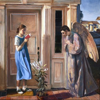 Annunciation , in 2000 by American artist John Collier