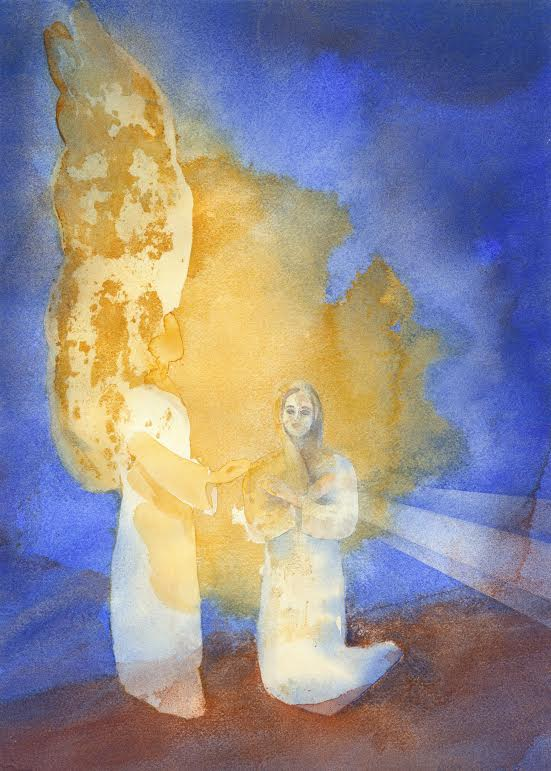 An Artist Shares in the Mystery of the Annunciation