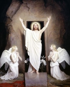Resurrection-Carl Bloch (1834-1890)