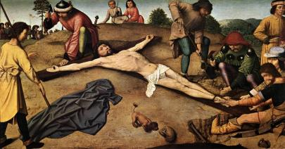 gerard david christ nailed to the cross