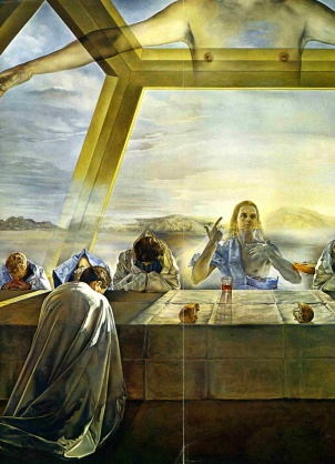 Salvidor Dali's The Last Supper
