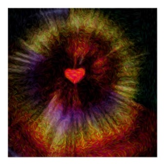 Divine Mercy Poster from Zazzle.