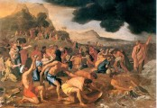 he Crossing of the Red Sea is a painting by Nicolas Poussin, 1633