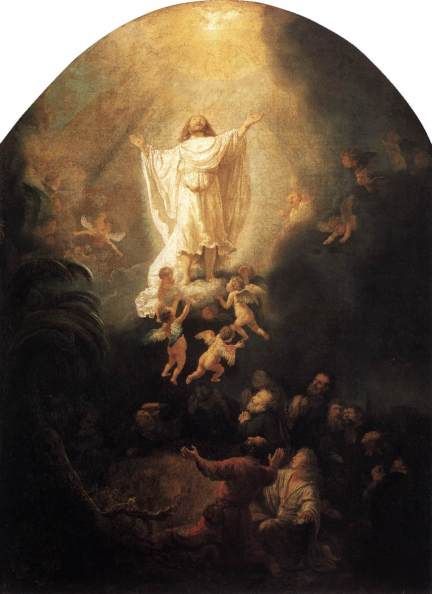 The Ascension Of Christ - Rembrandt