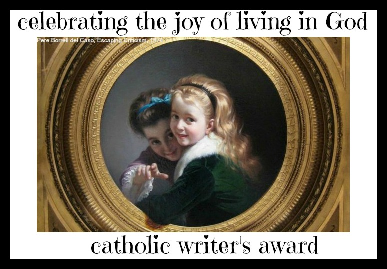 A New Catholic Writing Award