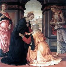 """Visitation - Louvre"" ... of Mary (1486-1490)"