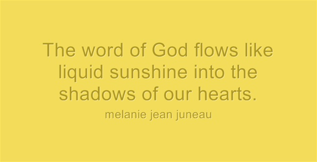 The-word-of-God-flows