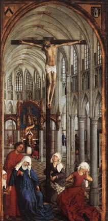 WEYDEN, Rogier van der.Seven Sacraments 1445-50