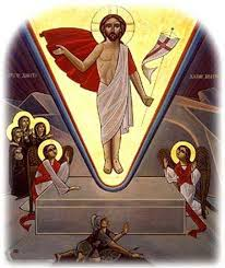 resurrection coptic icon
