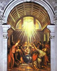 The Descent of the Holy Ghost by Titian