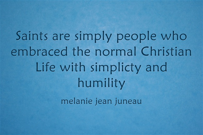 Saints-are-simply-people