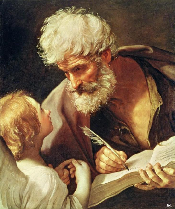 St. Matthew and the Angel, Guido Reni
