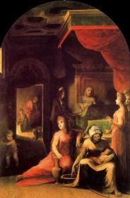 Domenico-Beccafumi-The-Nativity-of-the-Virgen