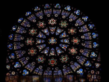 St Denis 5 Rose Window