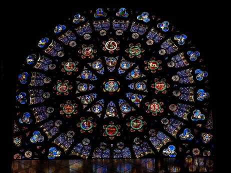 St Denis 5 Rose Window