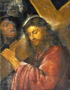 Circle of Tiziano Vecelli (Titian), Christ Carrying the Cross, 16th century