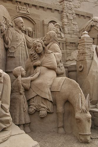 "BEAUTIFUL DETAILED SAND ""NATIVITY"" Flickr -"