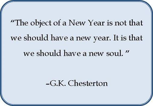 The Object of  a New Year