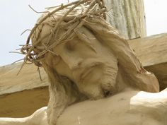 Face of Jesus Crucified - Saints and Sculptures: Stations of the Cross at Kawa-kawa Hills, The Philippines