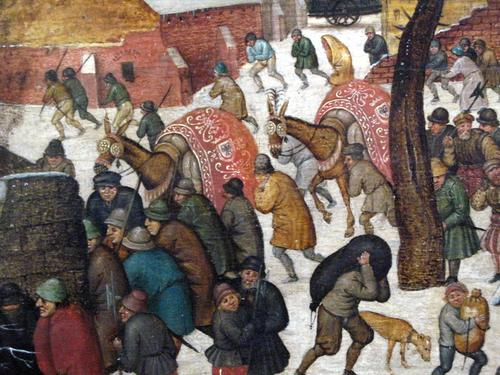 Adoração Dos Reis Magos Na Neve 2 Pieter Brueghel