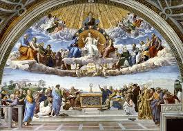 La Dispute du saint Sacrement, de Raphaël.