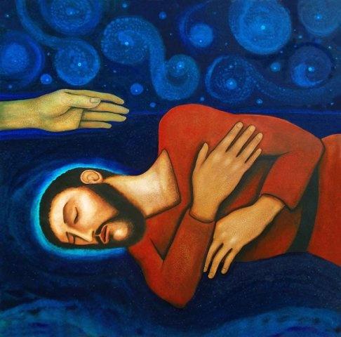 Joseph Dreaming by Michael O,Brien